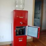 Vintage Water Cooler with fridge