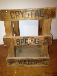 glass great bear water cooler bottle - Crate front