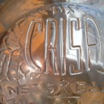 glass great bear water cooler bottle - Logo detail