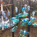 Recycled Plastic Bottle Sculptures